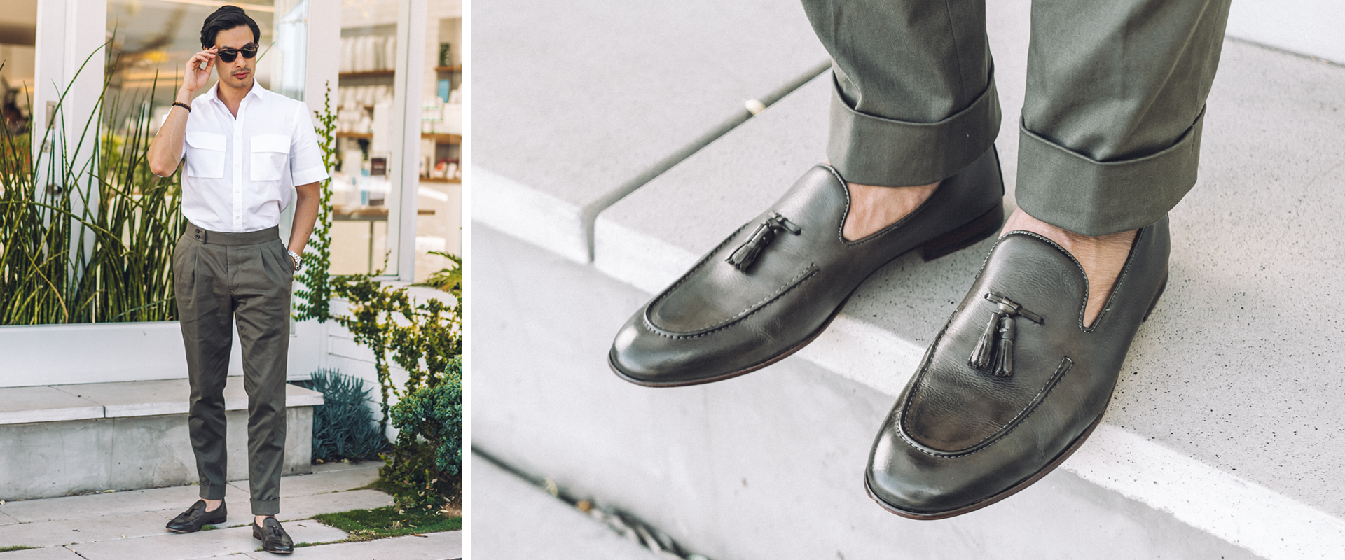 New Leather Loafers