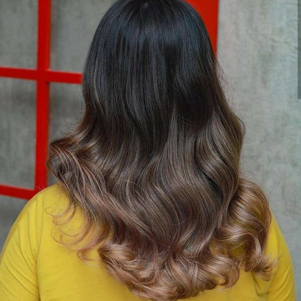 Dirty Blonde balayage Hair Color