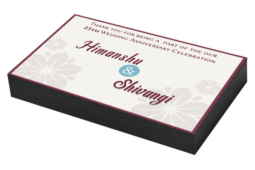 Gifts For A 25th Wedding Anniversary: 25th Wedding Anniversary Invitation & Return Gifts