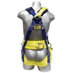 Fall Protection Harnesses with 4 Connection Points