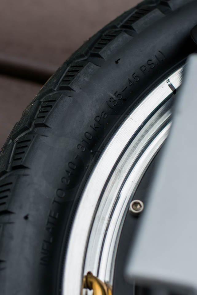 Kingsong KS16S Review tyre marking pressures