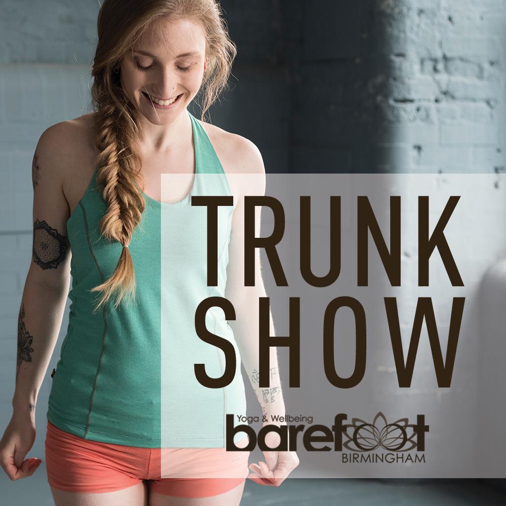 Trunk Show Barefoot Yoga Studio