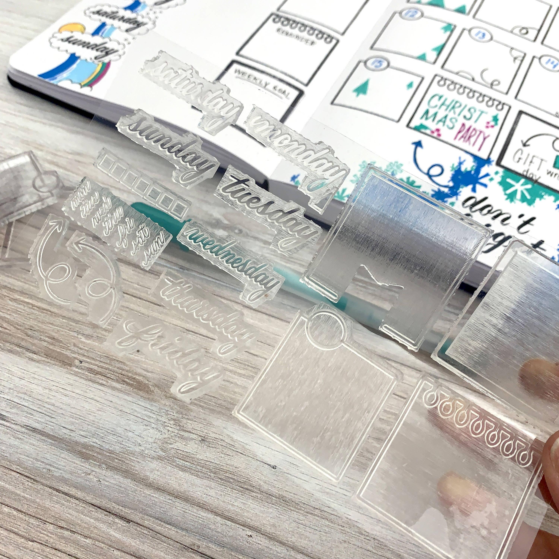 Bullet Journal Stamp Set
