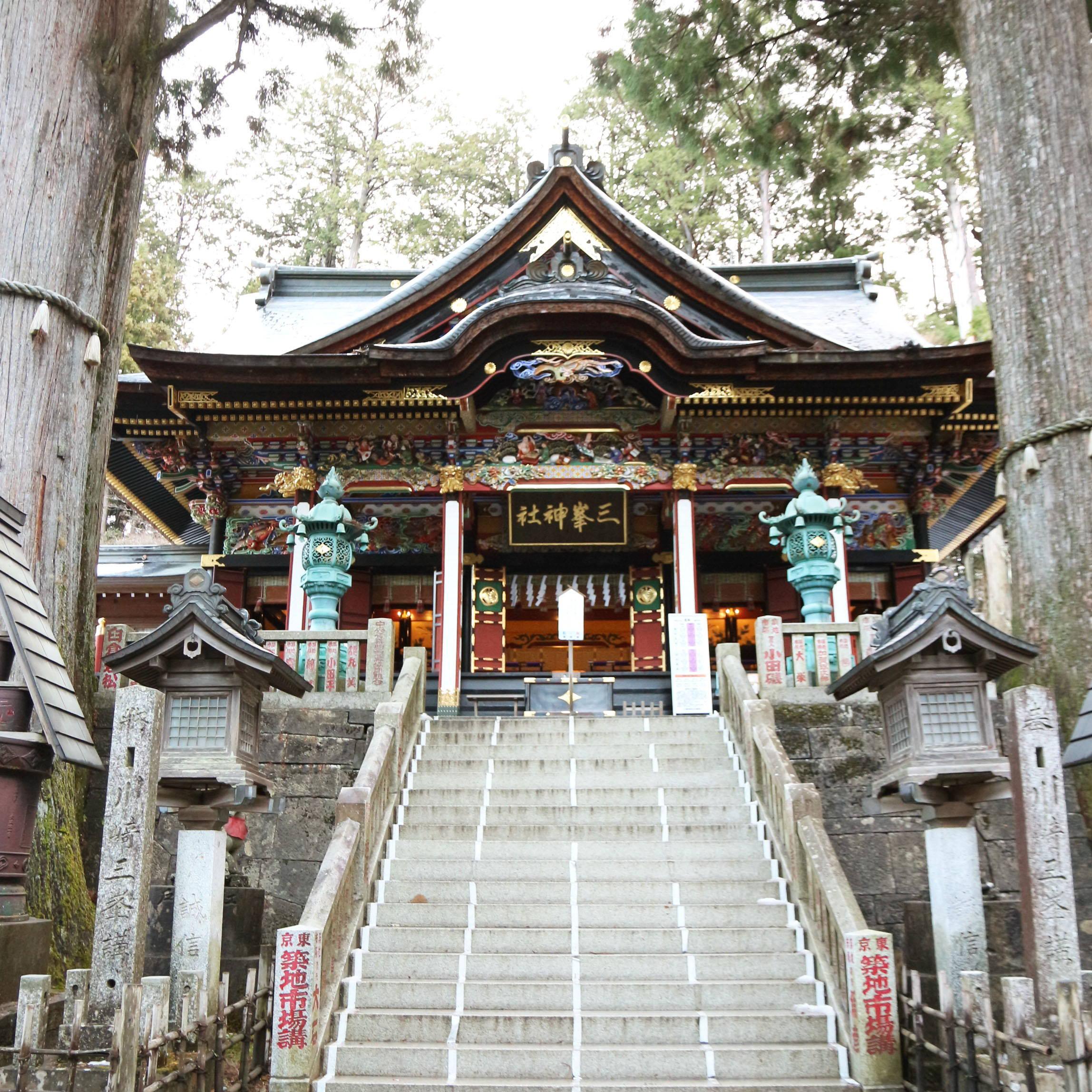 【パワースポット】#01:関東一のパワースポット、三峯神社へ