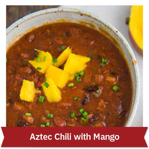 Aztec Chili with Mango