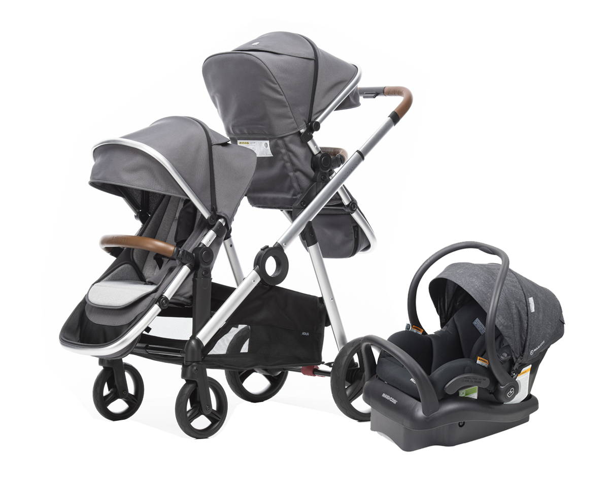 duo2 pram and capsule bundle
