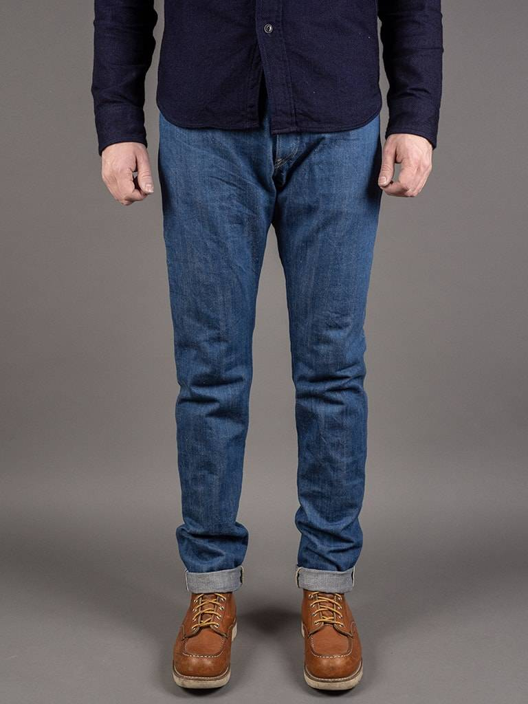KAZE HIGH TAPERED JEANS