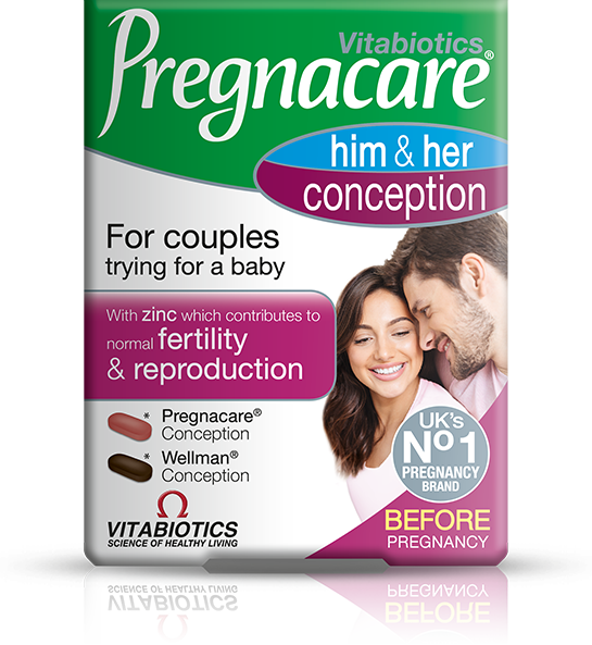 Pregnacare Him & Her Conception Pack