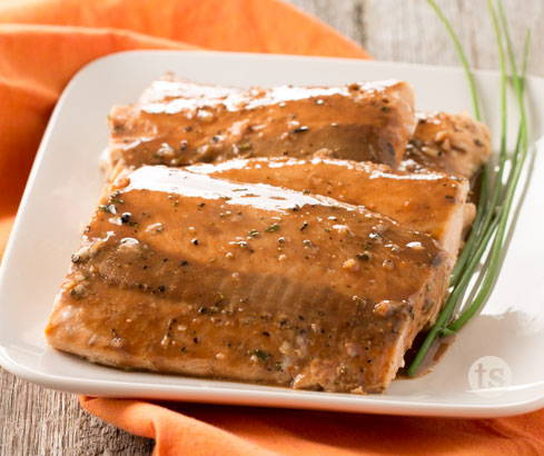 balsamic and herb salmon