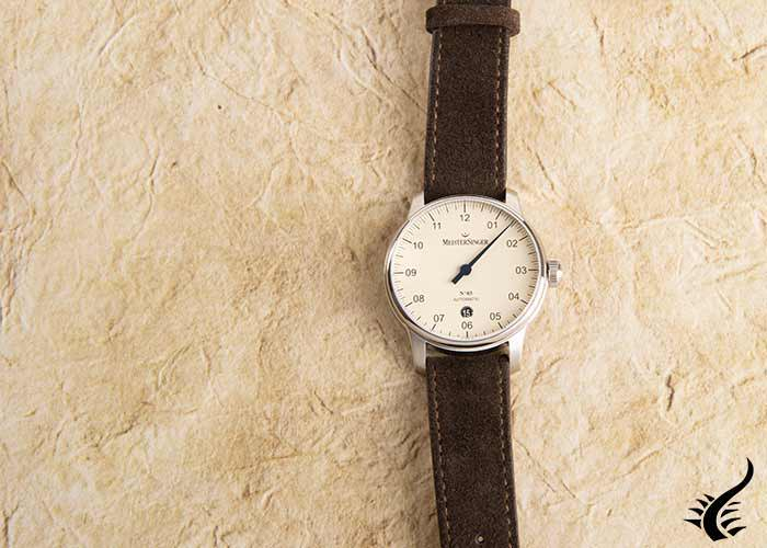 Meistersinger Automatic watch -N3-40-mm, DM903-SV02