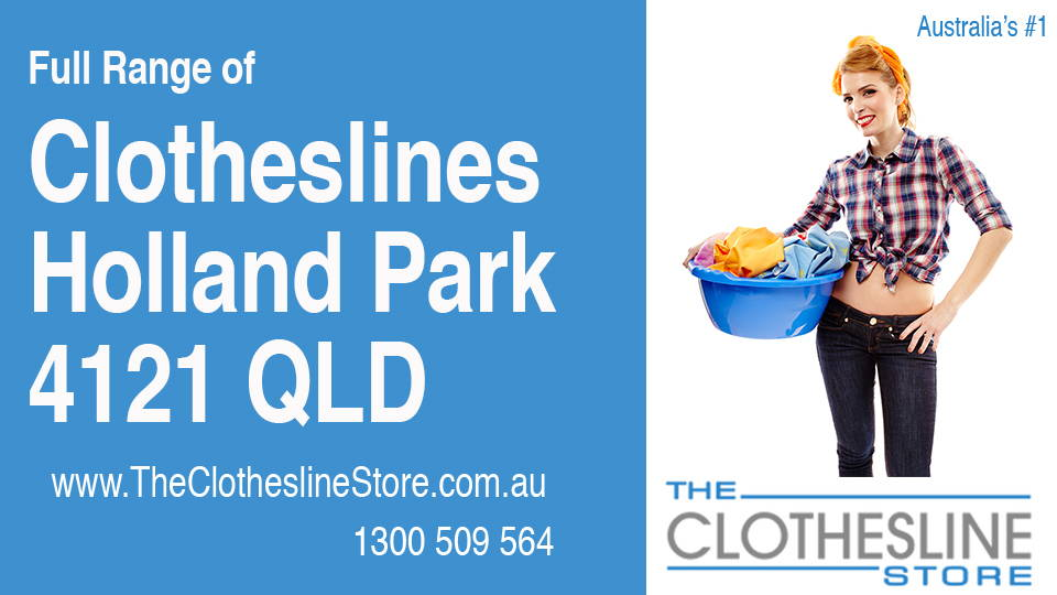New Clotheslines in Holland Park Queensland 4121