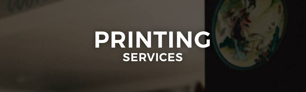 Few and Far Studio Printing Services