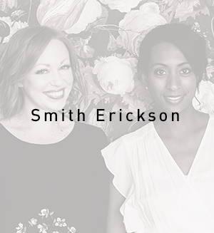 A photo of design duo Stephanie Smith and Jenelle Erickson of SmithErickson Design of Calgary