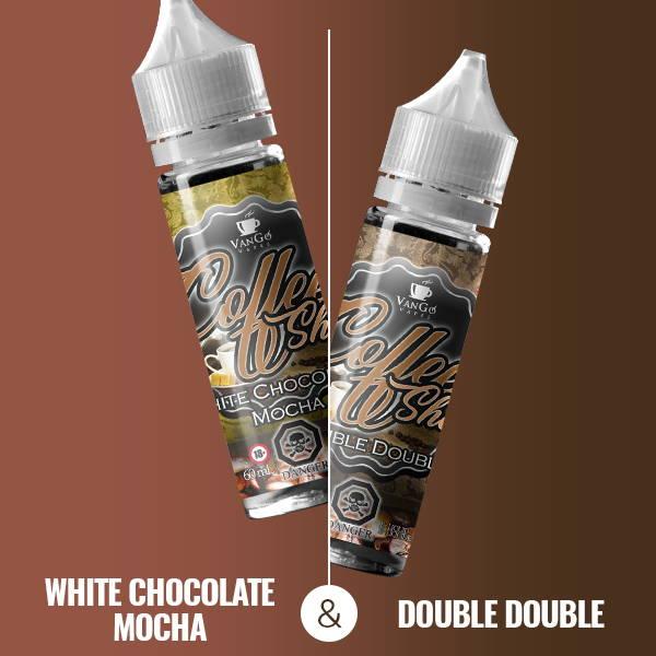 White Chocolate Mocha & Double Double
