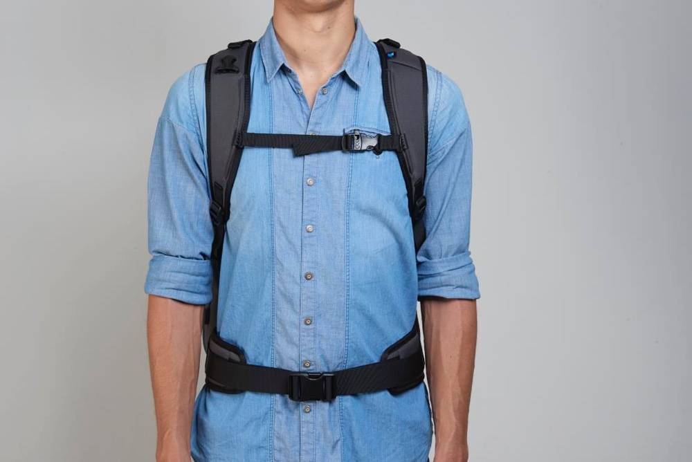 Minaal Attachable Hip Pads - Add extra load to your carry on backpack