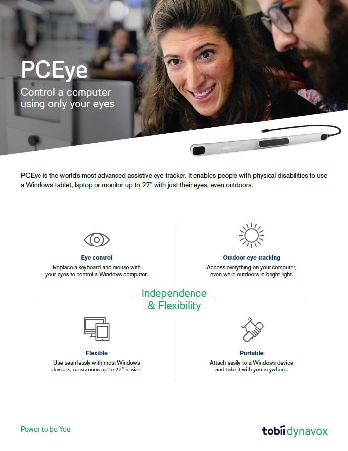 PCEye Brochure
