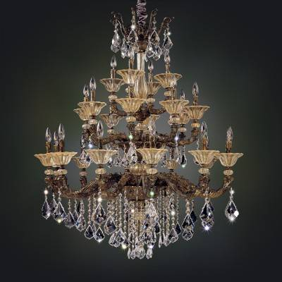 Allegri Lighting Crystal Pendants, Chandeliers, Wall Sconces, & Ceiling Lights - MENDELSSOHN COLLECTION