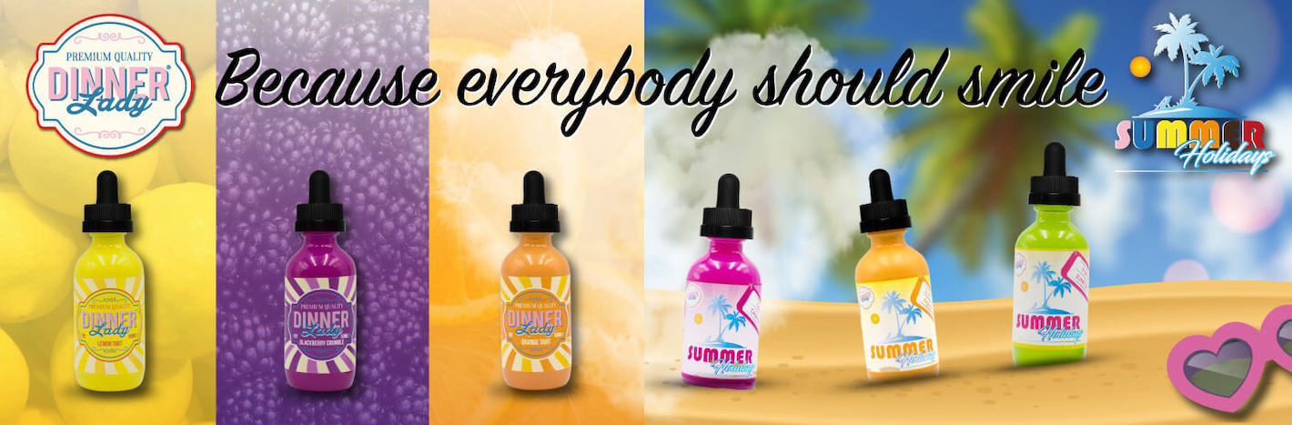 Vape Dinner Lady eJuice/eLiquid - Shop Dinner Lady Vape Juice at ECVD Retail & Wholesale