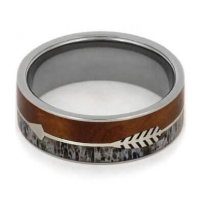 Antler Ring with Arrow