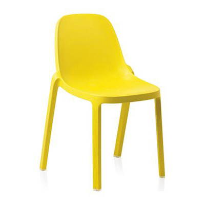 Modern Yellow Outdoor Dining Chairs