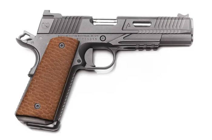 exotic leather gun grip