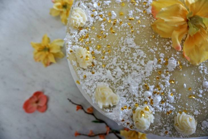 Infused Vanilla Chai Cake & Buttercream Frosting