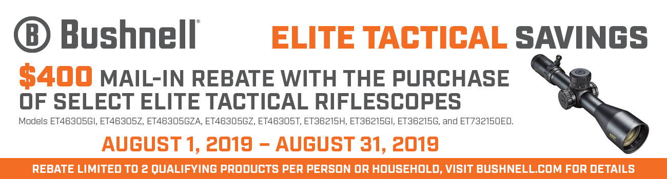 Click here to see all our Bushnell Elite Tactical optics!