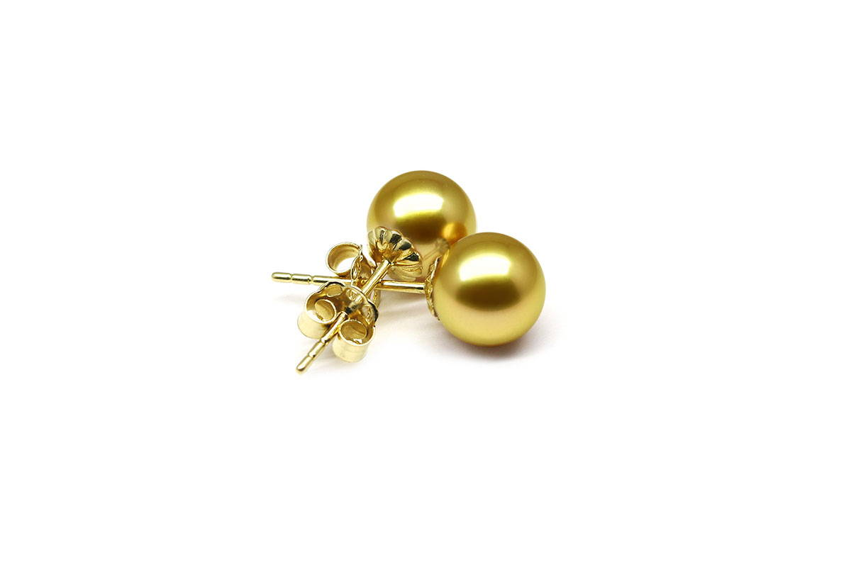 South Sea Gold Earrings