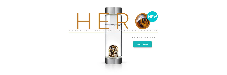 Limited Edition Hero Gem-WAter Bottle by VitaJuwel