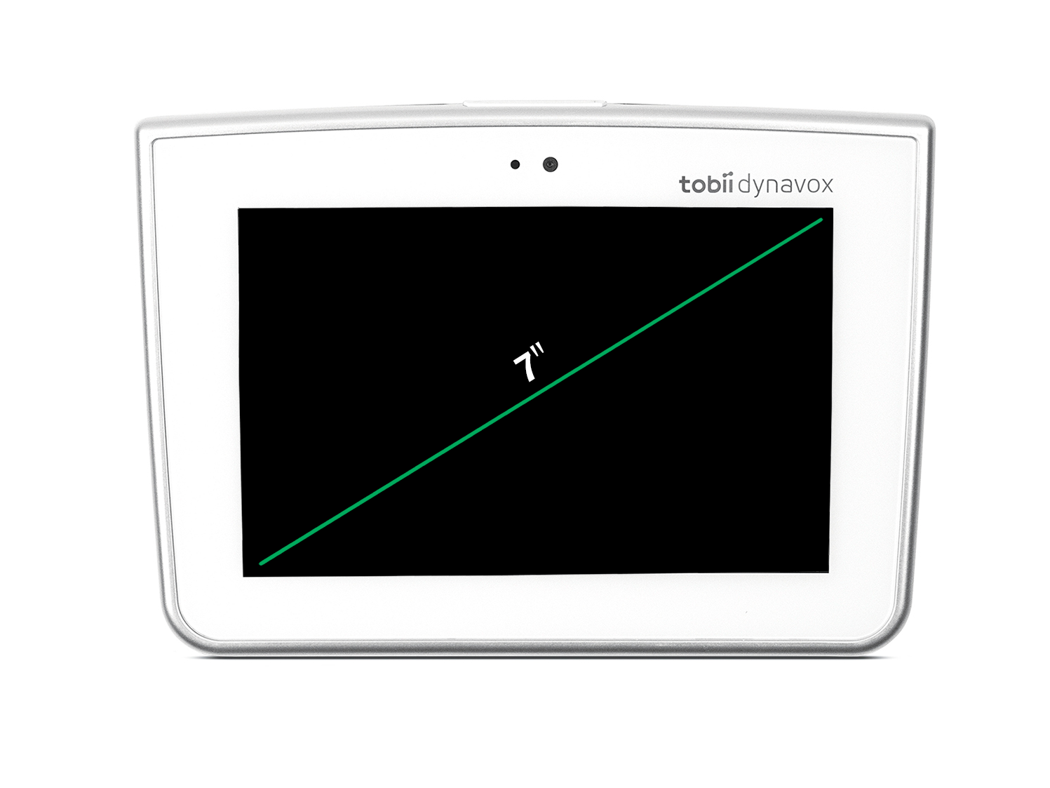 The Tobii Dynavox Indi 7 has a 7inch display