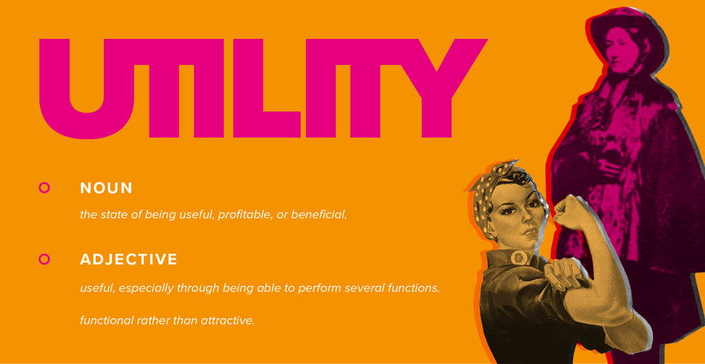 Graphic of the definition of utility