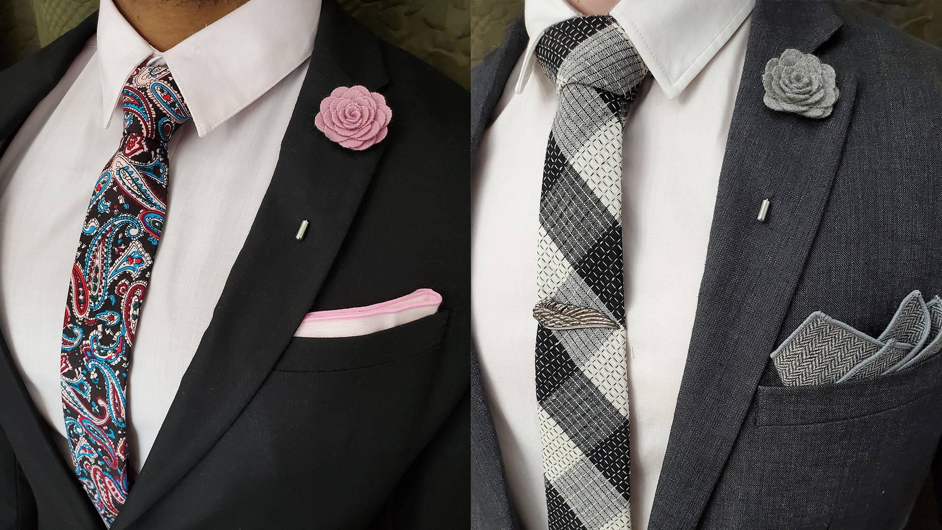 groomsmen men/'s lapel flower wedding accessories floral lapel pin lapel pin flower Grey Lapel Flower Pin groomsmen lapel pin