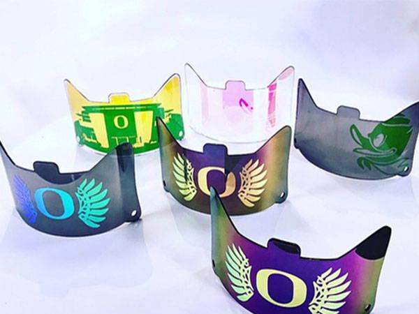 hologram football visor