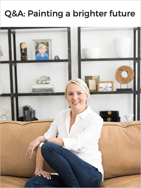 Inside Small Business: Q&A Lisa Rickert Jolie Home Painting a brighter future