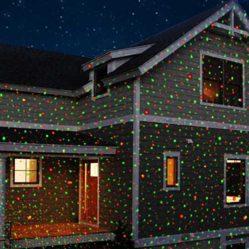 Laser Christmas Lights & Outdoor Projection Lighting