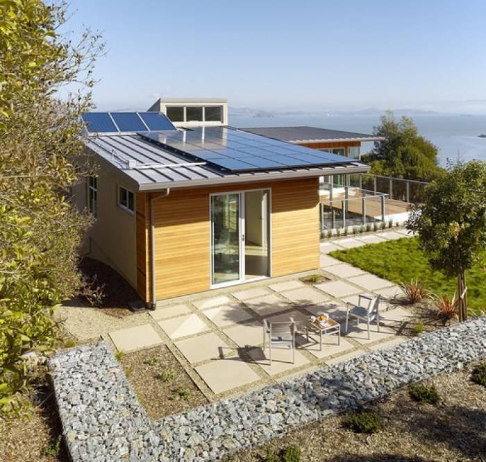 Image of Tiburon Bay House With Solar