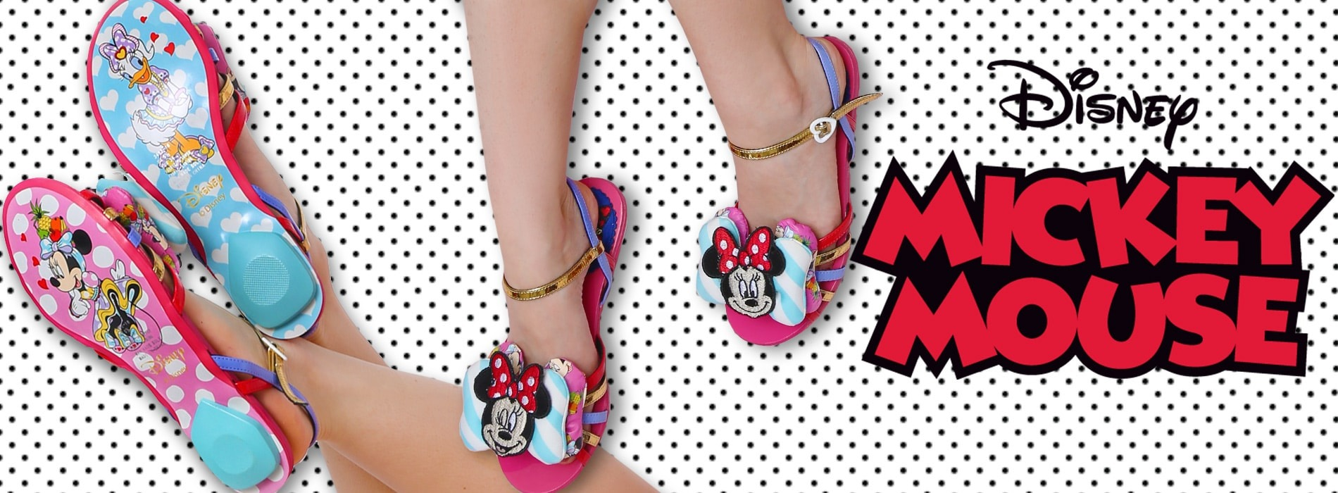 Mickey Mouse and Friends Collection by Irregular Choice | Tiltedsole.com