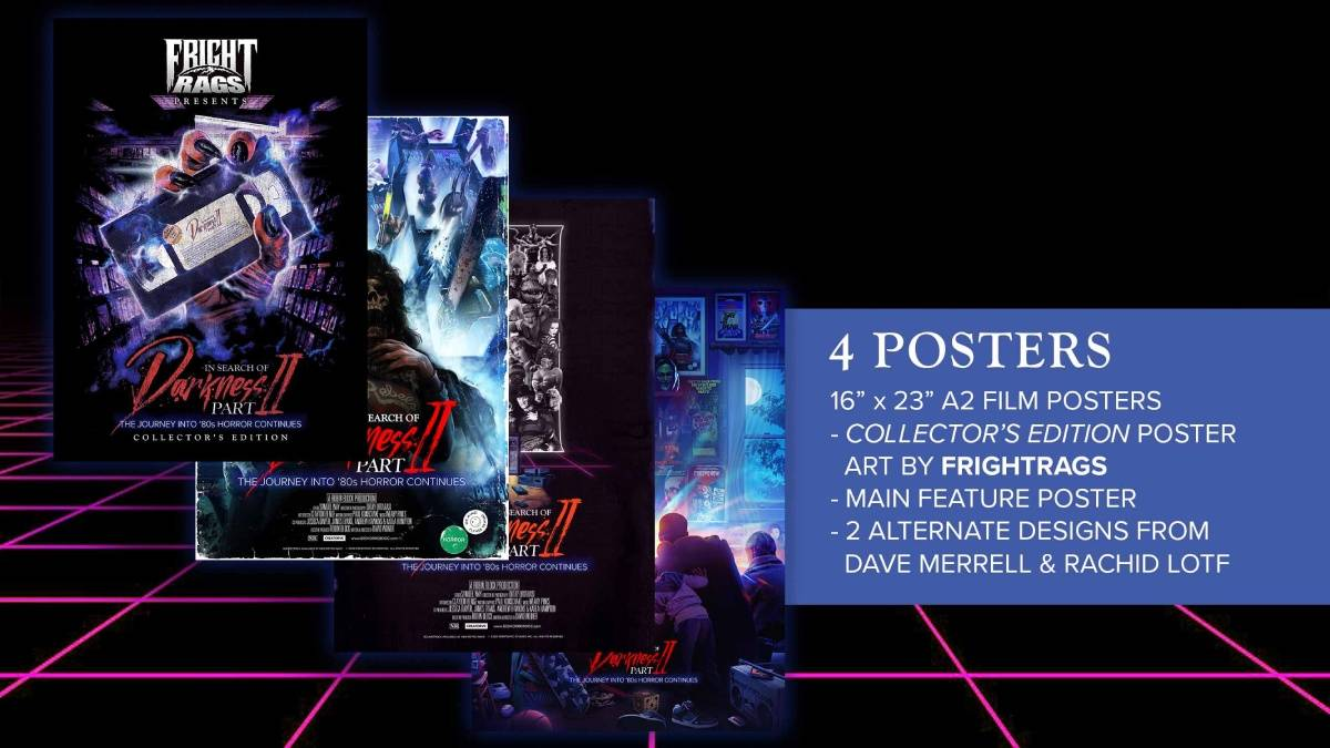 In Search of Darkness: Part II, Fright-Rags Collector's Edition poster package