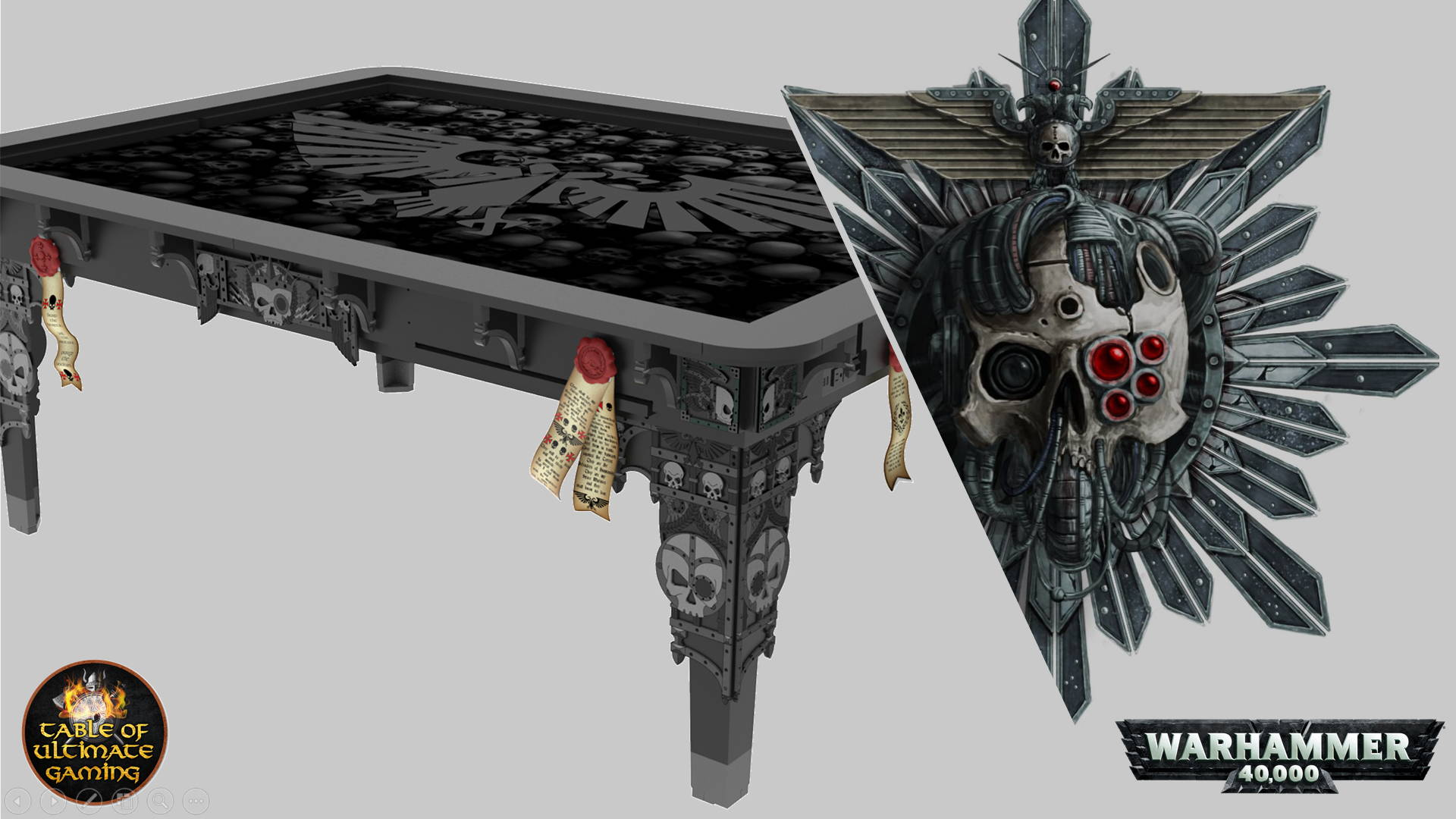 Warhammer Special Edition Tables Accessories Table Of Ultimate