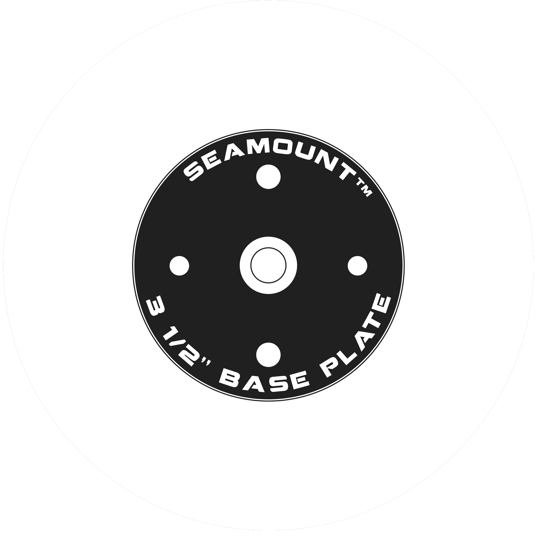 Base Plate for Seamount System for Pau Hana accessories and board