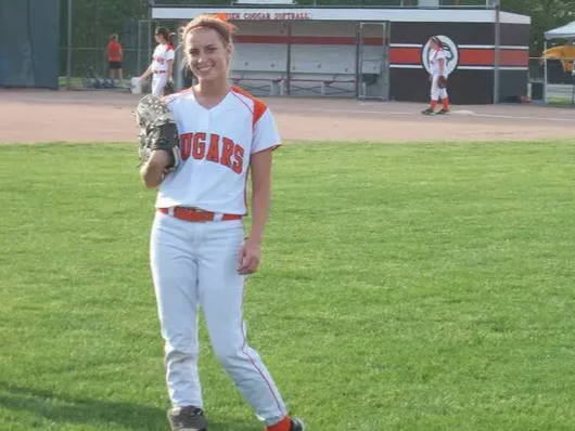 My softball days