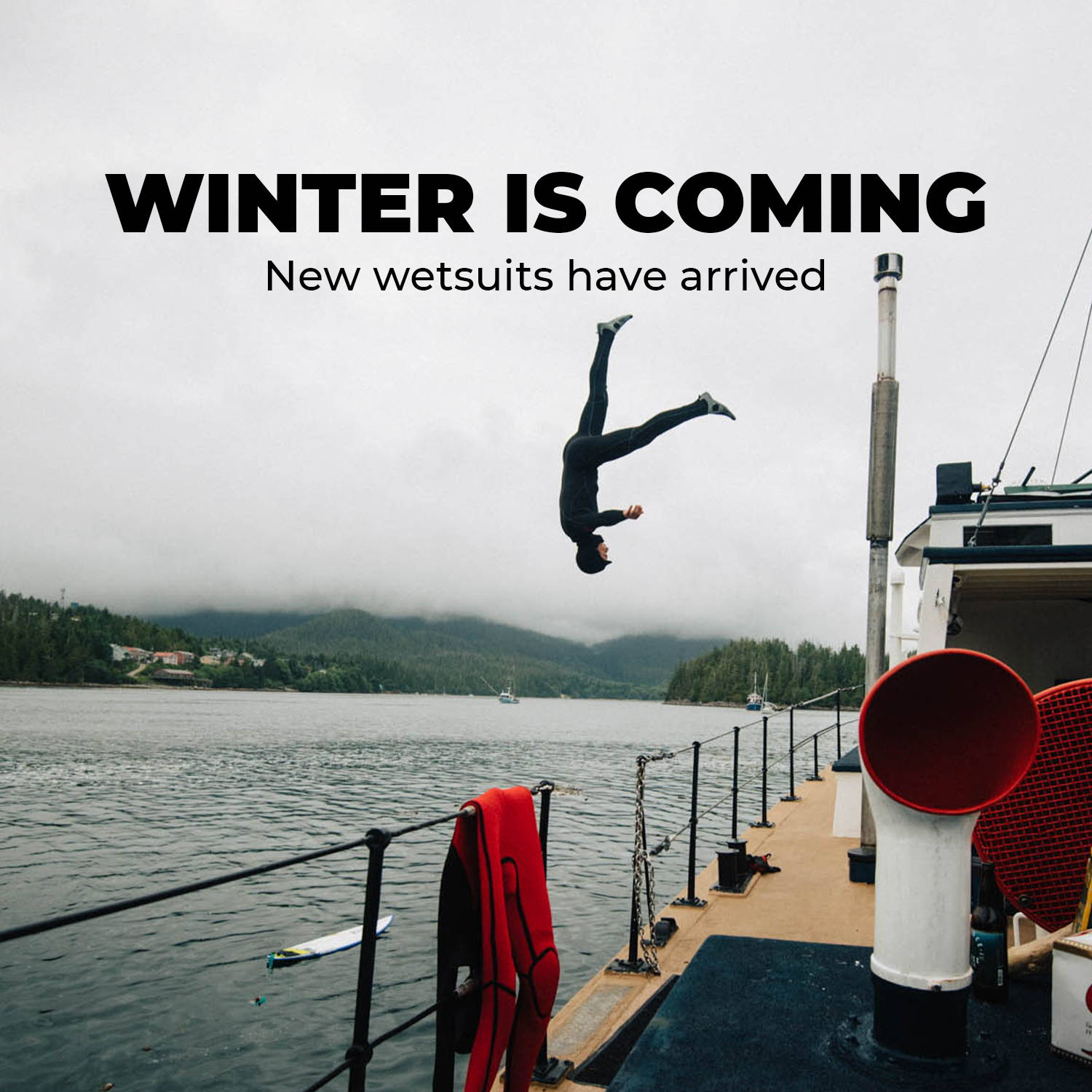 Winer is coming - New wetsuits have arrived
