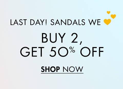 Sandals We Love