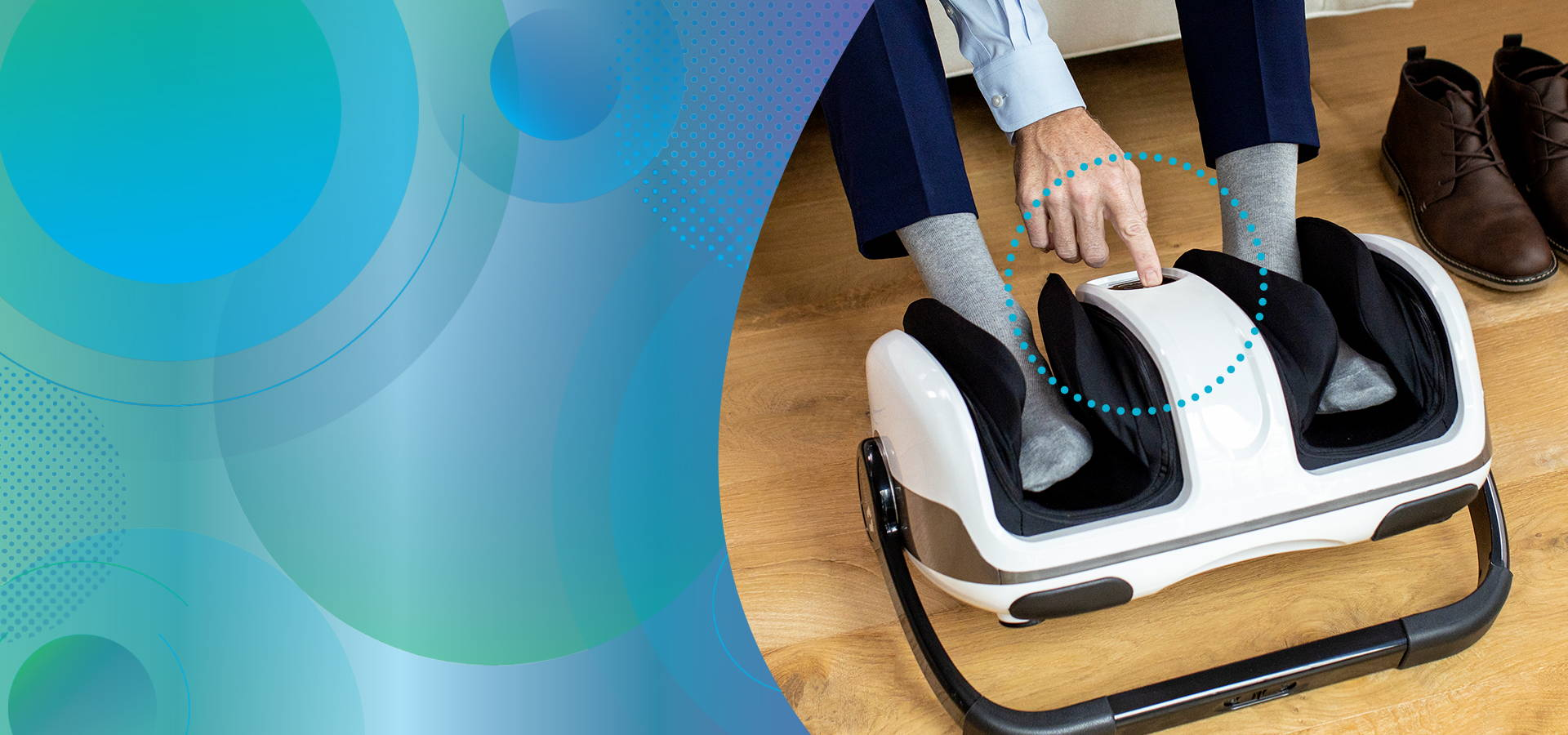 Shiatsu foot massager is a one stop solution for tired, achy feet and sore calves