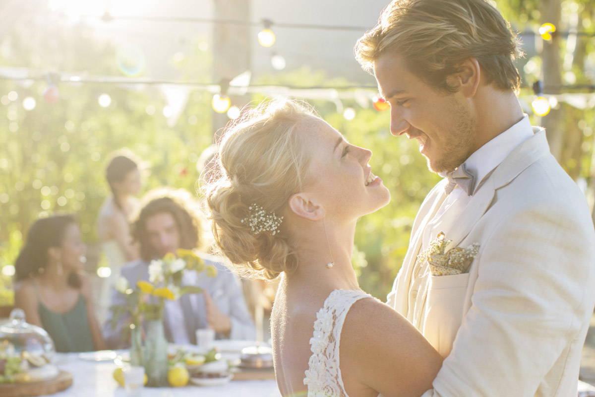 prachtig trouwen bruiloft