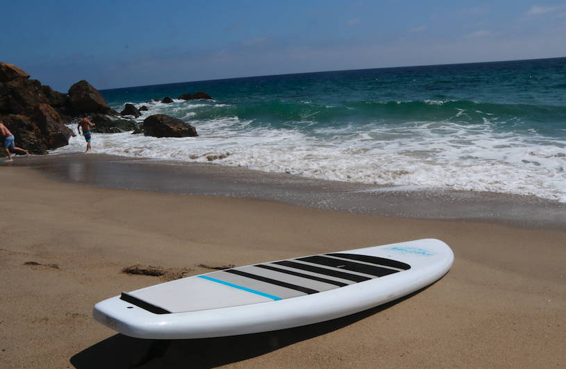 The Malibu is the best beginner stand up paddle board on the market. Malibu SUP.