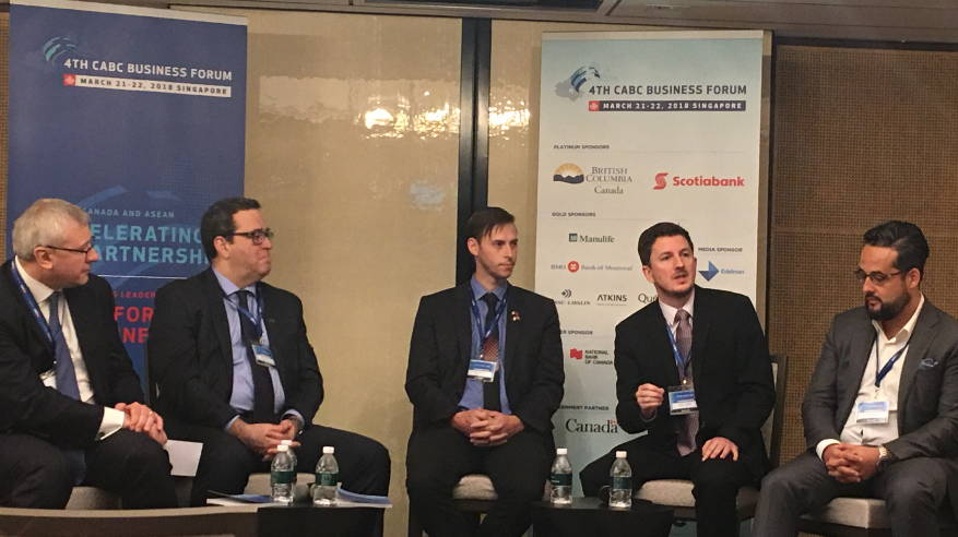 Dr. Watson at SME Panel at 4th Annual Canada-ASEAN Business Council Forum