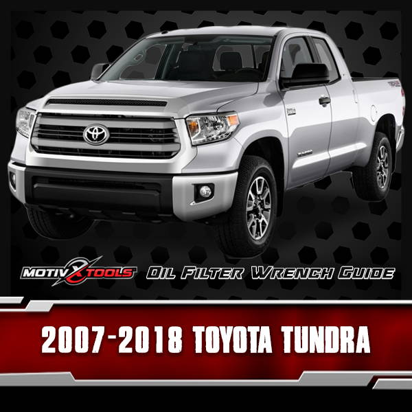 2007 - 2018 Toyota Tundra Oil Filter Wrench Guide