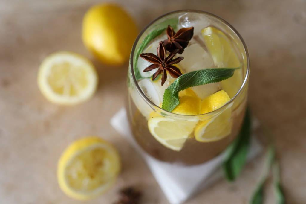 Nexba Cinnamon Whisky Sour