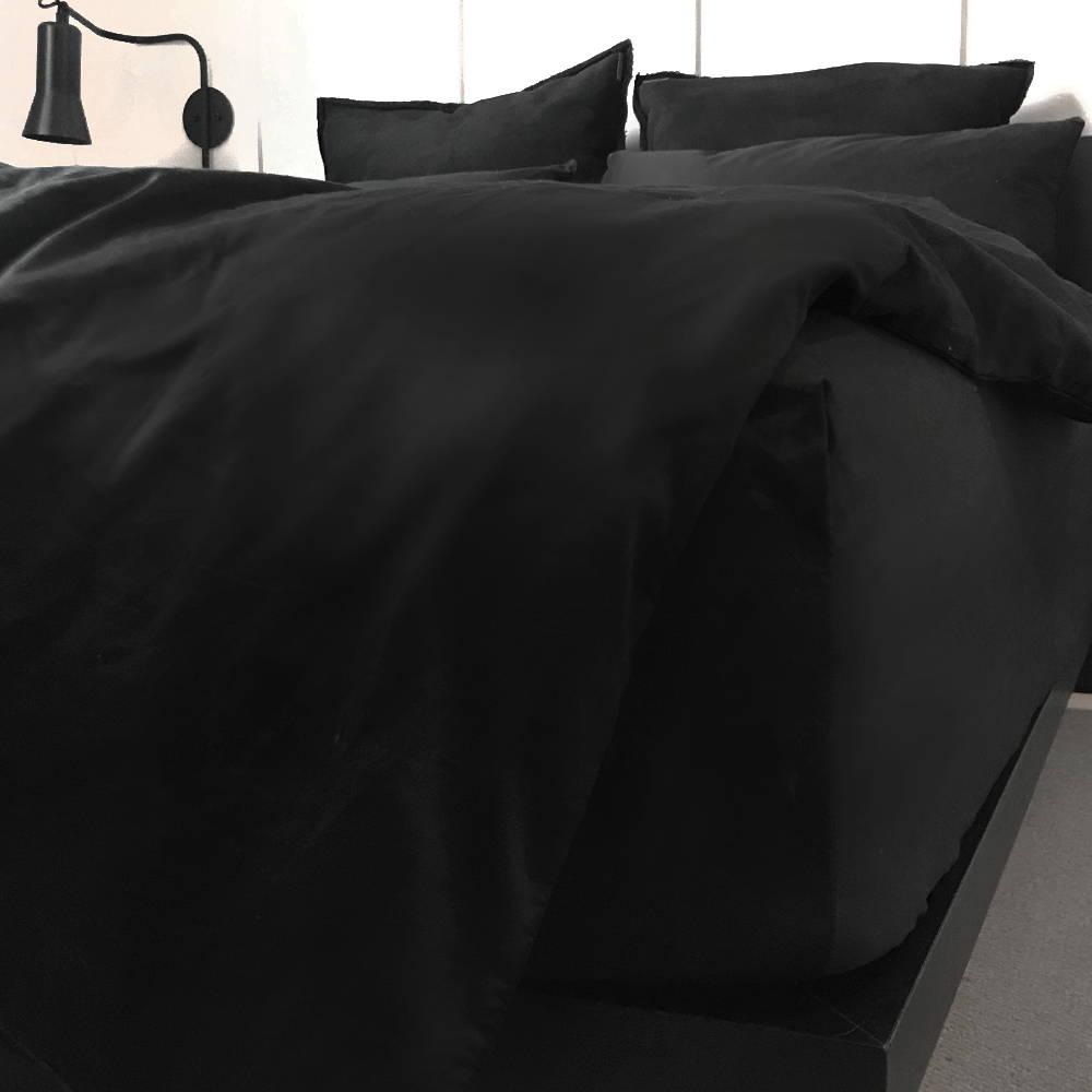 Black Long-Staple 100% Cotton Sheets | The Sheet Society